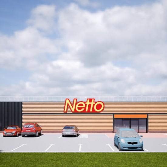 Netto 3d Audun le Tiche