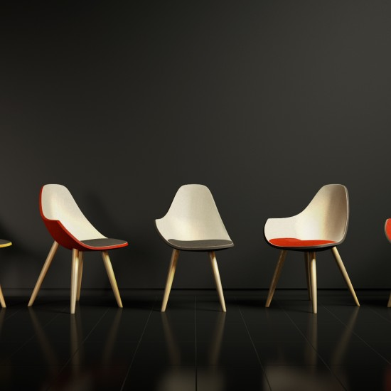 3D model LAUF Chair