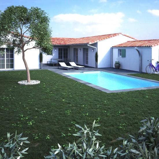 villa 3d ile de Ré